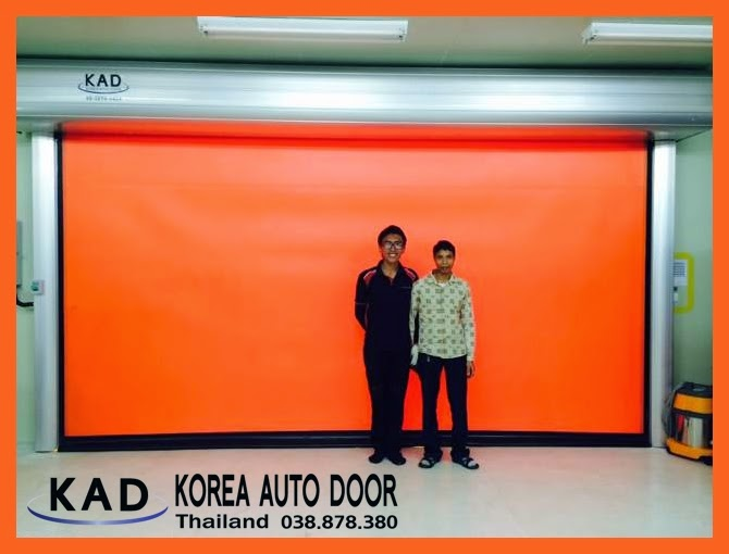KAD high speed doors are designed for fast open and close, allowing people or equipment to move quickly through the door.