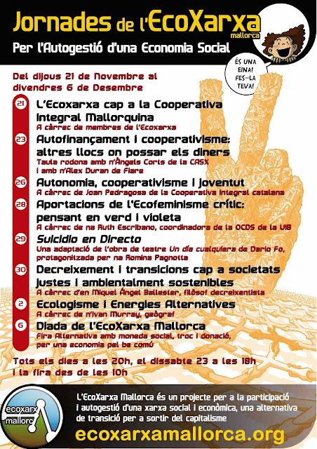 Jornades de l'EcoXarxa per l'Autogestió d'una Economia Social