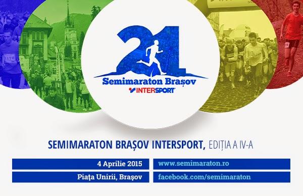 Semimaraton Braşov, 4 Aprilie 2015. Susţine o cauză de fundraising sau aleargă pentru ea
