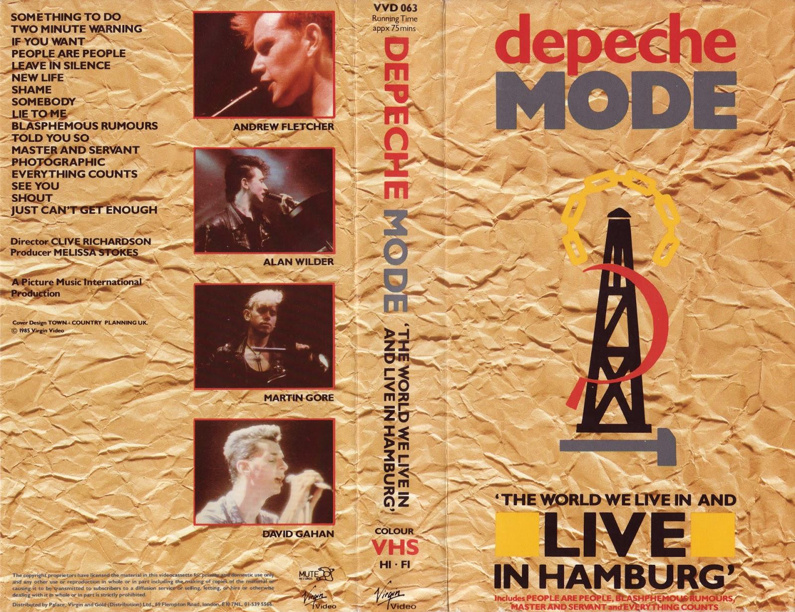 Dark Circle Room Depeche Mode Alsterdorfer Sporthalle Hamburg Germany Proshot