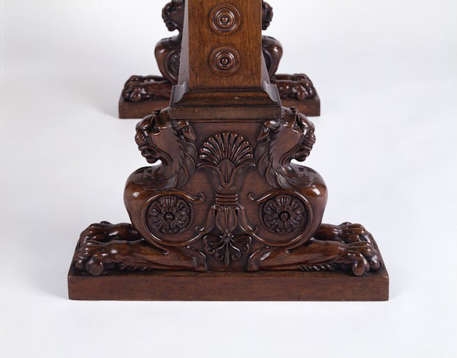 Table, 1800-1807, Carved mahogany, Victoria and Albert Museum. London, UK.