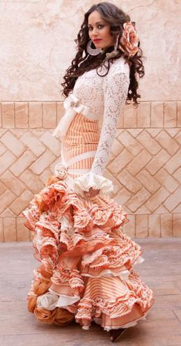 vestidos de flamenca 2011