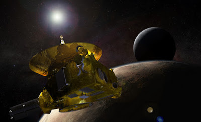 Bentuk Permukaan Pluto saat New Horizons Melintas
