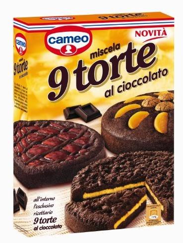 Torte cameo al cioccolato
