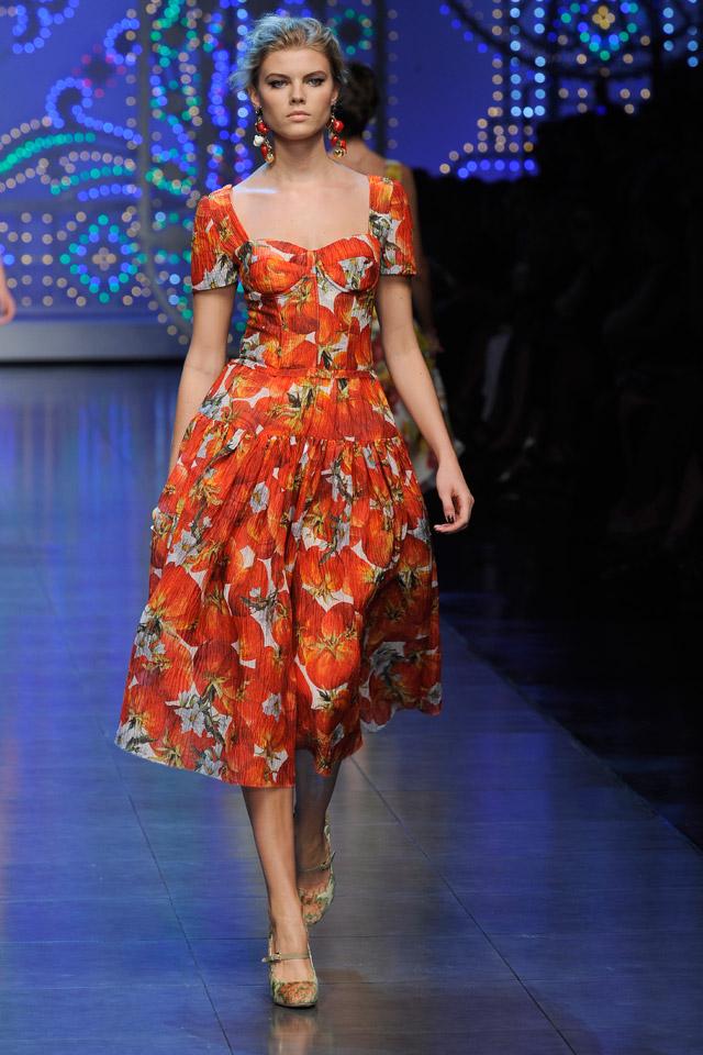 Dolce And Gabbana Summer 2012 Womens Wear
