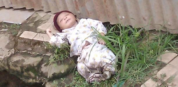 Celebrity Dead Body Photos Woman dumps baby in gutter