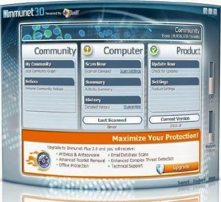 Immunet-FREE-Antivirus-3.1.8.9567