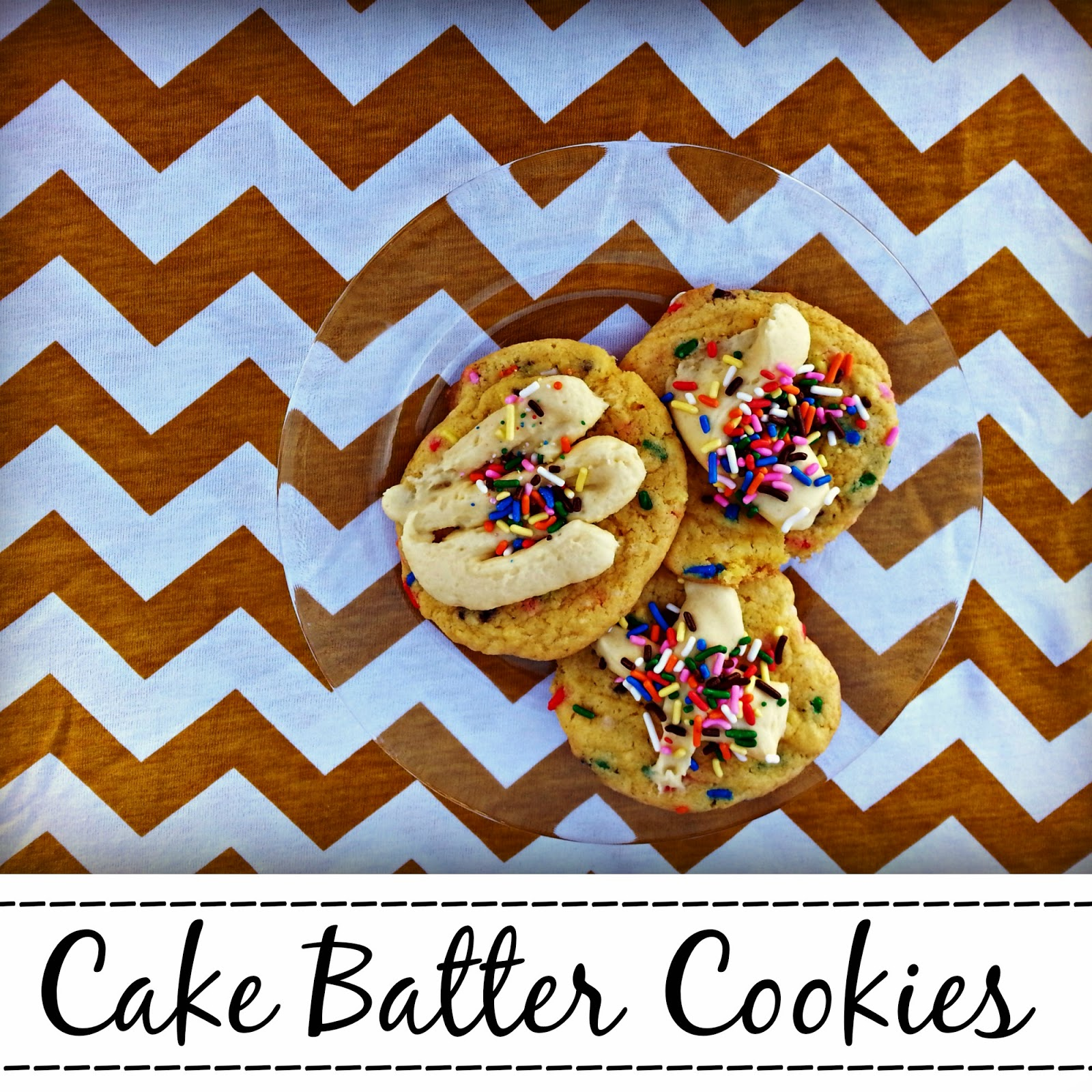 Double Cake Batter Cookies...