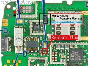 NOkia asha 311 Display light solution Repairing ways