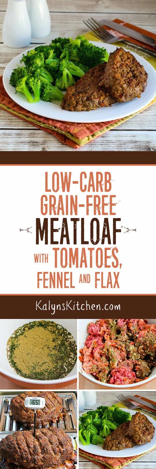 Low Carb Grain Free Meatloaf With Tomatoes Fennel And
