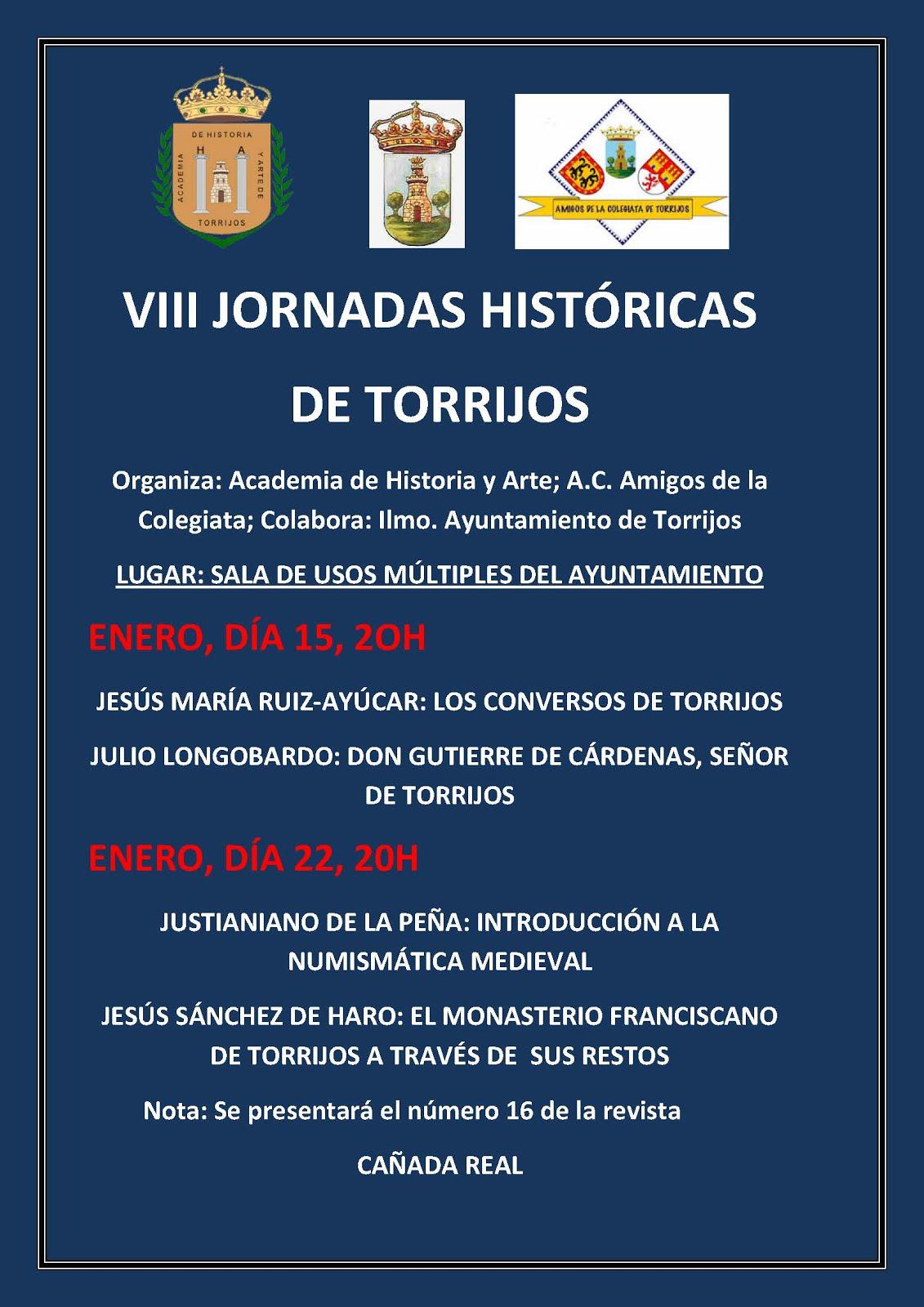 VIII JORNADAS HISTÓRICAS