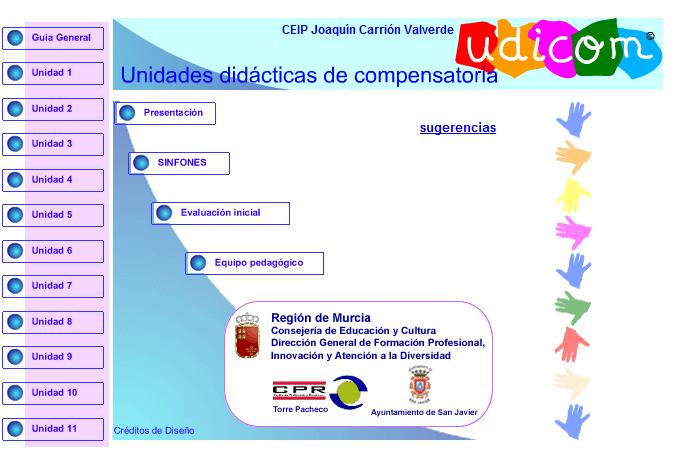 """Página Recomendada: """"Unidades Didácticas de Compensatoria"""" (UDICOM)"""