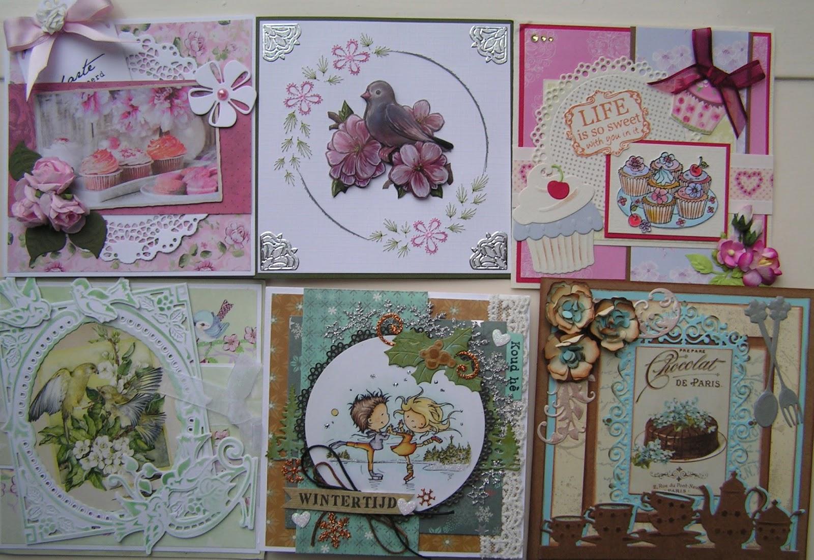 Trijntjes kaarten kerstkaart week 50 en mijn ontvangen verjaardagskaarten - Jaar wallpapers ...