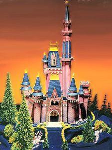 Cinderella Castle Papercraft
