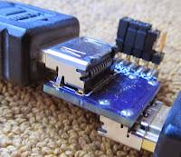 HDMI breakout pcb