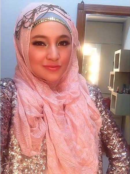 referensi jilbab ala marshanda cara memakai jilbab
