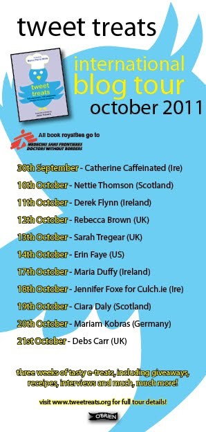 TweetTreats Blog Tour Poster