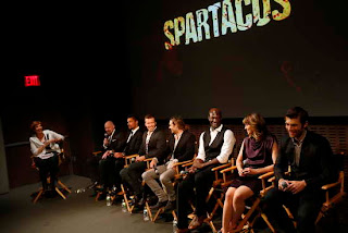 Spartacus War of the Damned Premiere event in NY