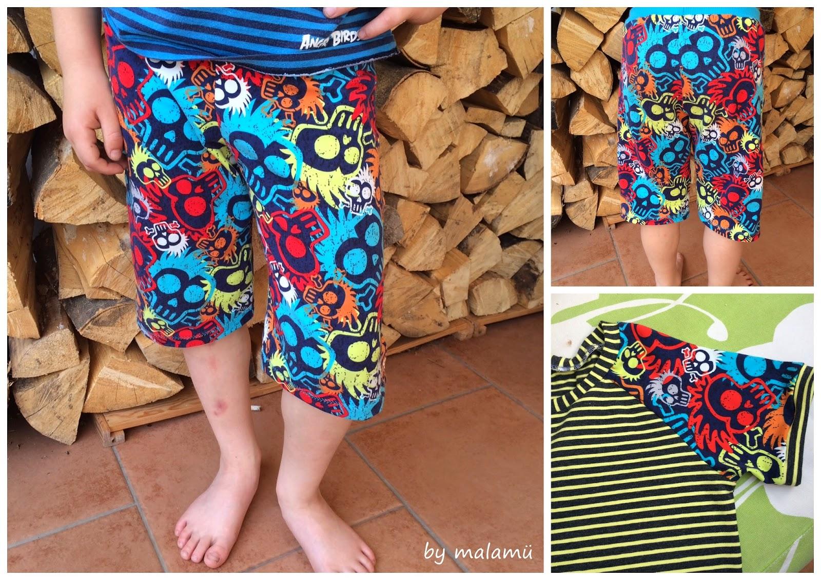 Einfach schöne Sachen...by malamü: Coole Hosen für coole Jungs ...