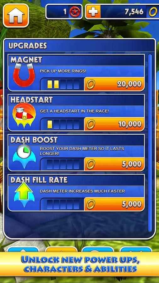 Android Sonic Dash Apk resimi
