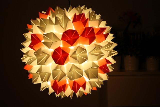 fosfeno candeeiro origami