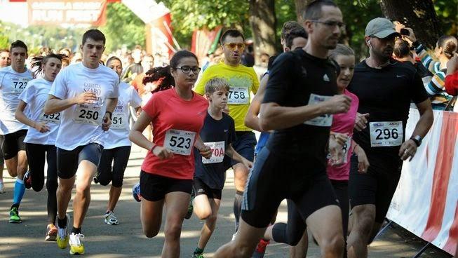 Antrenament pentru RUNFEST 2014. Duminică, 14 septembrie 2014, ora 9, Parcul Floreasca, Bucureşti