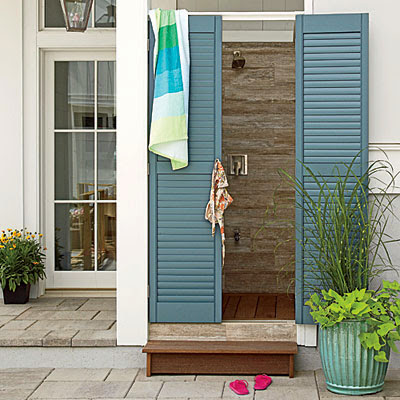 Coastal Living Showcase Outdoor Shower