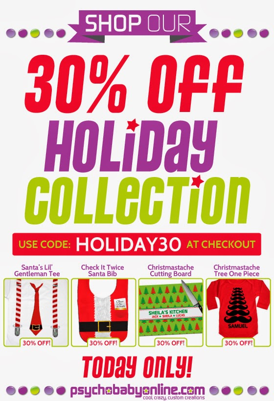 Holiday Goodies at 30% Off!