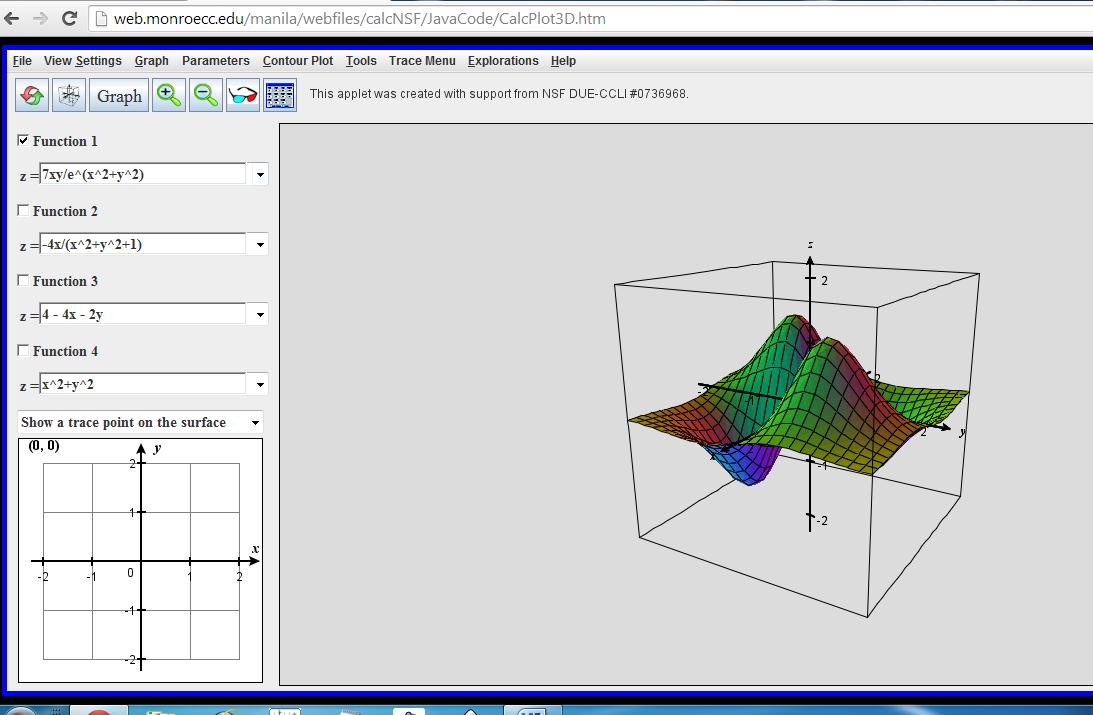 Programas de matem ticas y fisica calc plot 3d for 3d plot online