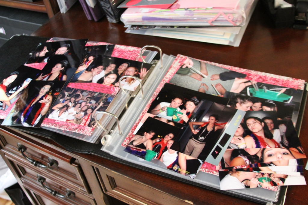 The Crafty Hobby House Those Unfinished Scrapbook Albums