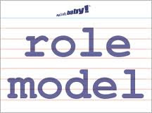 role model sign