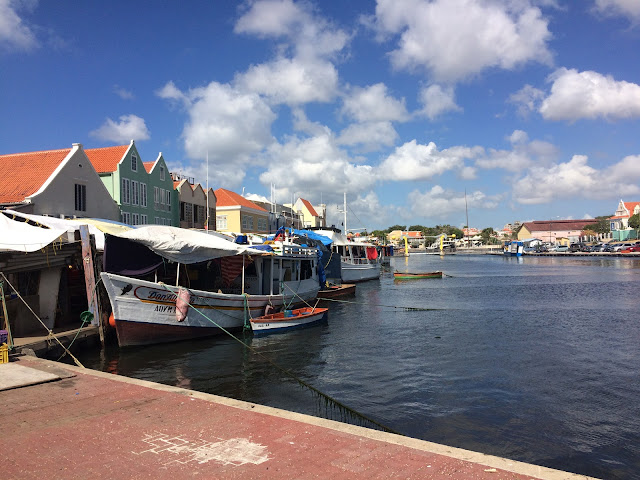 floating market, Willemstad, Curaçao
