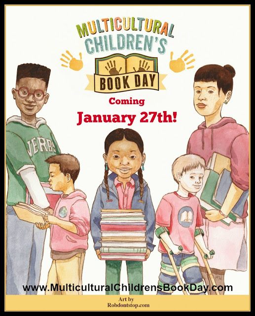 Multicultural Children's Book Day poster #ReadYourWorld