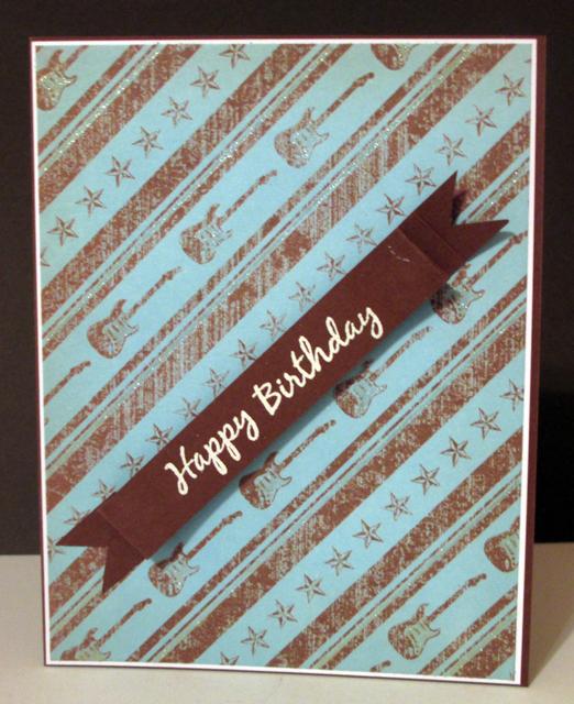 Pats Craft Corner Teenage Boy Birthday Card