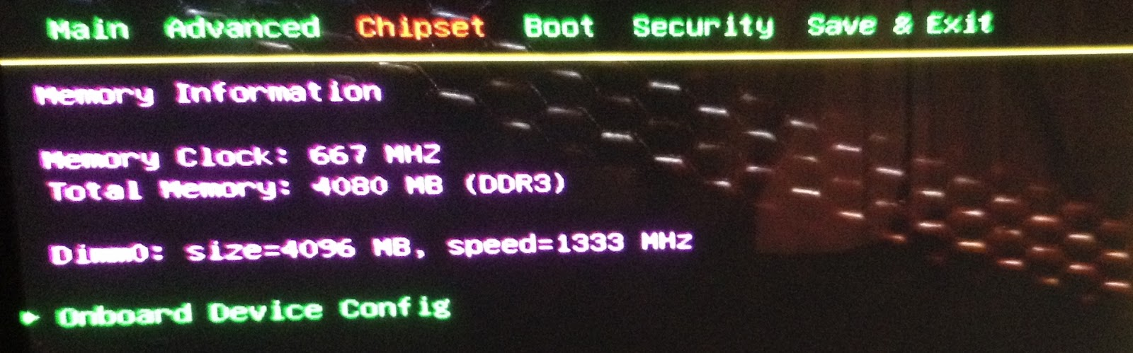 To Uefi By Pressing Suppr Key At Boot Time Go In Screen Chipset Set