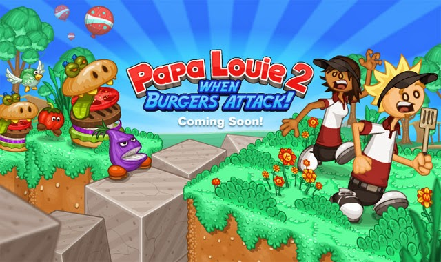 Play Papa Louie 2|When Burgers Attack Online Game Without Download