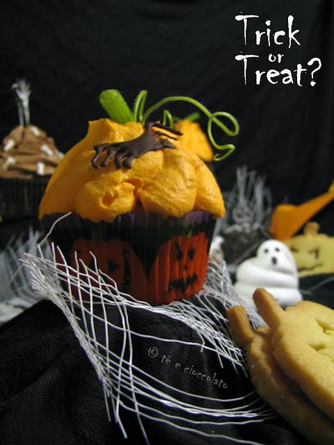 cup cake mostruosi di halloween...