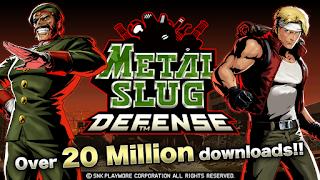 GAME METAL SLUG DEFENSE TERBARU