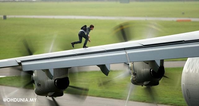 Mission Impossible 5 : Aksi Lagak Ngeri Tom Cruise Mengagumkan
