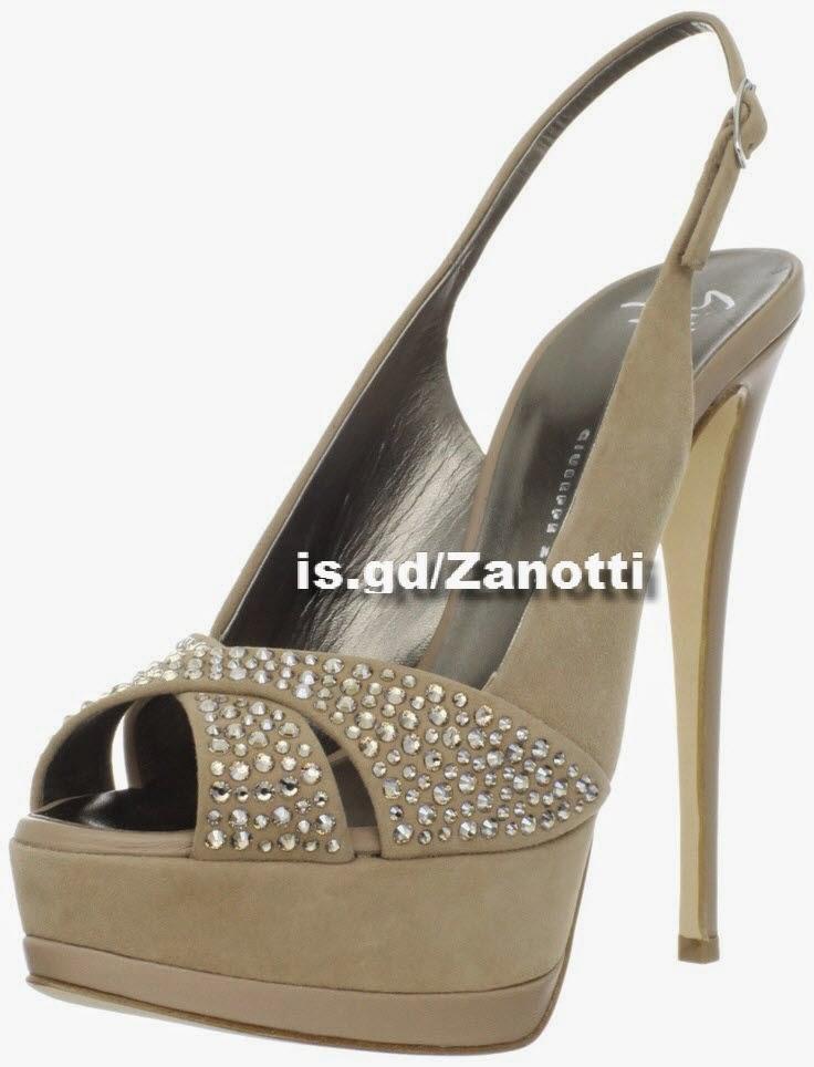 Giuseppe Zanotti Women's Platform Criss Cross Sandal