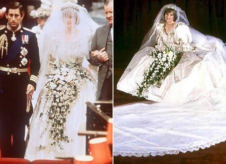 Сватбената рокля на Принцеса Даяна