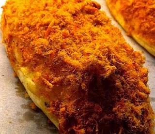 cara membuat roti abon gulung