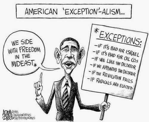 El Excepcionalismo de los Poderosos