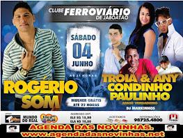 CLUBE FERROVIÁRIO DE JABOATÃO - ROGÉRIO SOM.Click Na Image