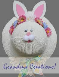 Easter Projects For Toddlers 3: Funny Bunny Hats 3