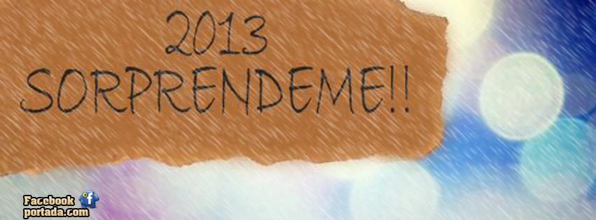 2013 Sorprendeme