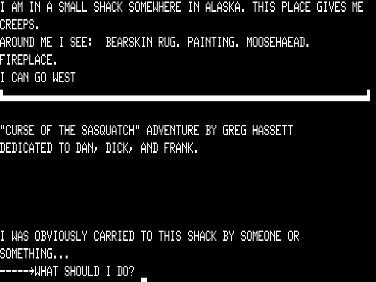... Where The Player Wakes Up Contains A BEARSKIN RUG, PAINTING, FIREPLACE,  And A MOOSEHAEAD [sic]    Yes, Greg Hassettu0027s Spelling Remains  Unconventional.