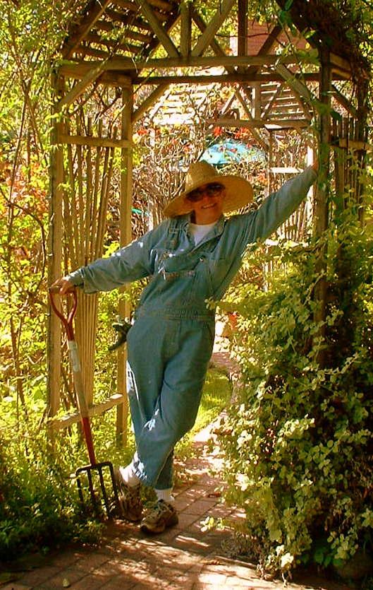 Gardening at Rose Arbors