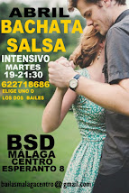 ABRIL, SALSA Y BACHATA INICIACIÓN NUEVO CURSO, EN BSD MÁLAGA CENTRO.
