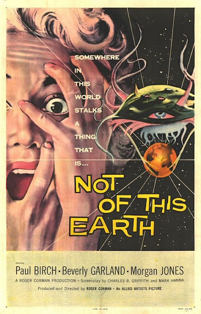 Not of This Earth 1957 poster